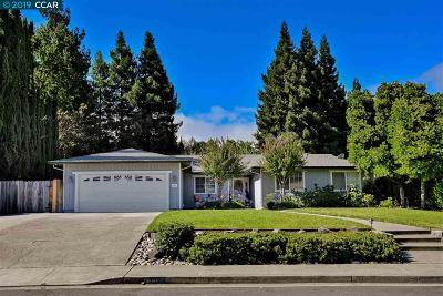 Danville Single Family Home Price Change: 134 Santa Clara Dr
