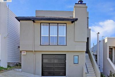 San Francisco Single Family Home For Sale: 232 Bowdoin St