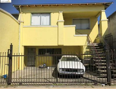 Oakland Multi Family Home For Sale: 8900 Macarthur Blvd