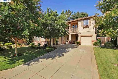 Danville Single Family Home Price Change: 624 Ambience Way