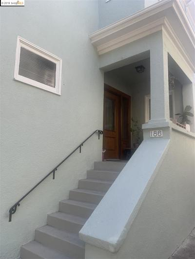 Oakland Multi Family Home For Sale: 186 Santa Rosa Ave