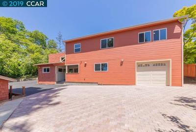 El Cerrito Single Family Home For Sale: 914 Clark Pl