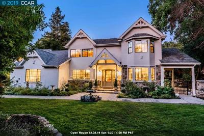 Alamo CA Single Family Home For Sale: $2,488,000