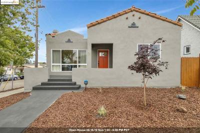 Berkeley Single Family Home For Sale: 1401 Virginia St