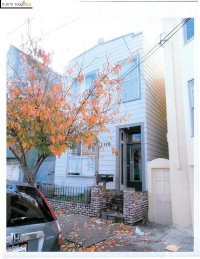 San Francisco Multi Family Home Price Change: 1378 Alabama Street