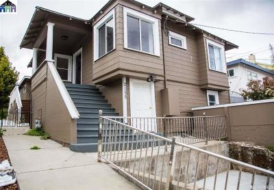 Oakland Single Family Home For Sale: 2155 42nd Ave