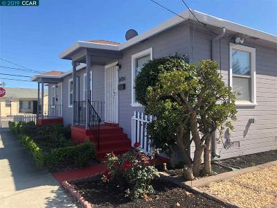 San Leandro Multi Family Home For Sale: 15091 Robin St