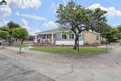 San Leandro Single Family Home For Sale: 2095 Wallace Ave