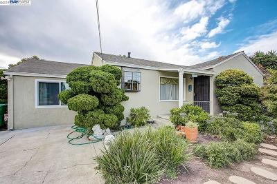San Leandro Single Family Home For Sale: 1646 Sidney Ave