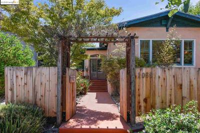 Oakland Single Family Home New: 1069 60th St
