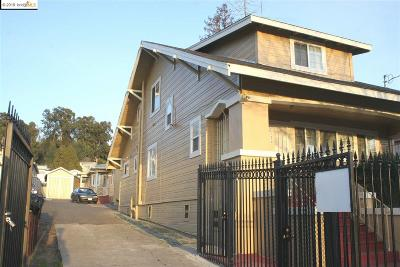 Oakland Multi Family Home For Sale: 7974 Macarthur Blvd
