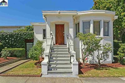 Berkeley Single Family Home For Sale: 1300 Kains Ave