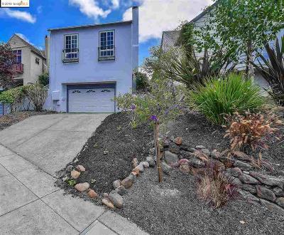 Oakland Single Family Home For Sale: 921 Mandana Blvd