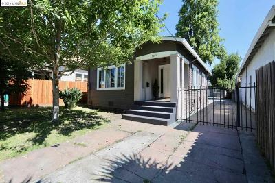 Oakland Single Family Home New: 3274 Lynde St