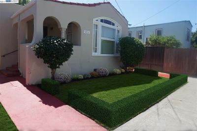 Oakland Single Family Home New: 5715 Elizabeth St