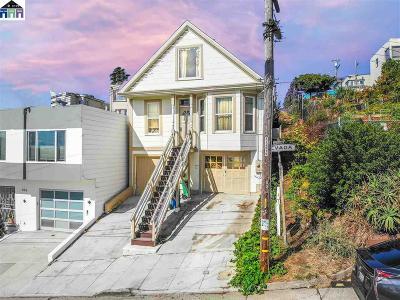 San Francisco Single Family Home For Sale: 502 Nevada St