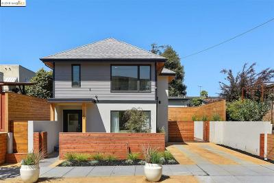 Oakland Single Family Home For Sale: 1722 Excelsior Ave