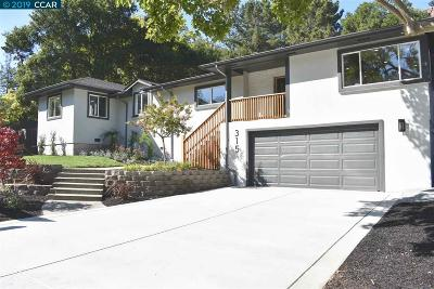 Moraga Single Family Home For Sale: 315 Rheem Blvd