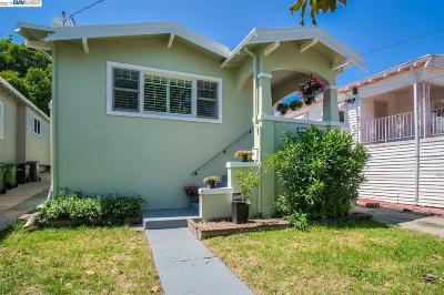 Oakland Single Family Home New: 2627 21st Ave