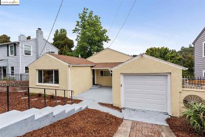 Oakland Single Family Home New: 8072 Earl