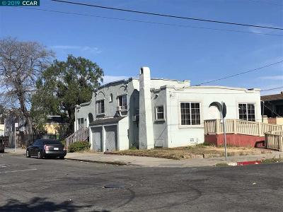Oakland Multi Family Home New: 1608 78th Ave