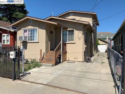 Oakland Single Family Home New: 1459 56th Ave