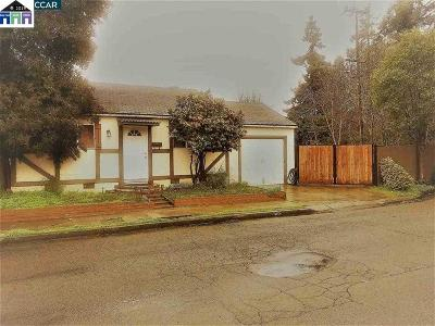 Hayward CA Single Family Home New: $599,000
