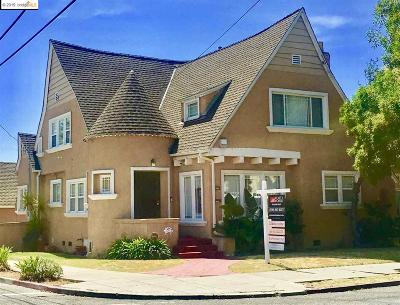 Oakland Single Family Home New: 2956 55th
