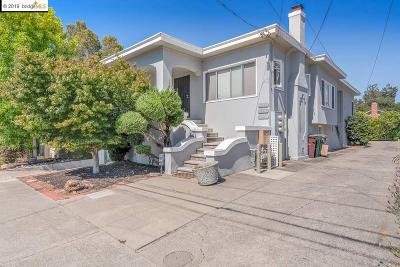 Oakland Single Family Home New: 5229 Miles Ave