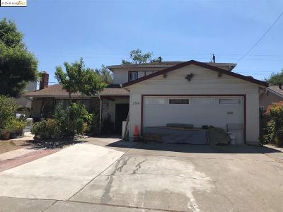 San Jose CA Single Family Home New: $1,100,000