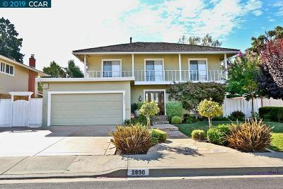 Concord Single Family Home Price Change: 2890 Ryan Rd