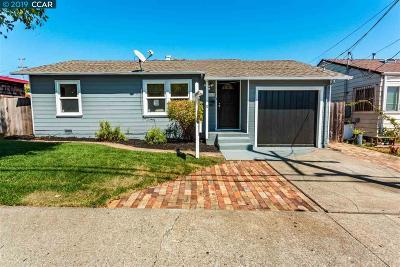 Richmond Single Family Home Price Change: 876 Amador St