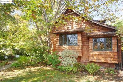 Berkeley Single Family Home For Sale: 17 Eucalyptus Rd