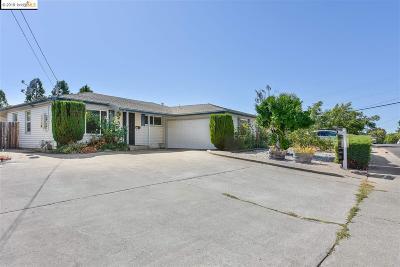 Pinole Single Family Home Back On Market: 2808 Ruff Avenue
