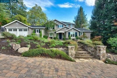 Lafayette Single Family Home For Sale: 1140 Camino Vallecito