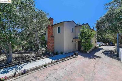 Oakland Single Family Home Back On Market: 4225 Oak Hill Rd