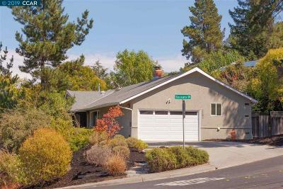 Walnut Creek Single Family Home For Sale: 2263 Mallard Dr