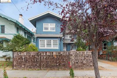 Berkeley Single Family Home For Sale: 2643 Stuart St