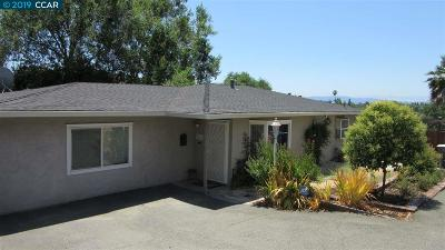Concord Single Family Home For Sale: 2361 Ranchito Dr
