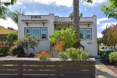 Oakland Single Family Home New: 899 54th St