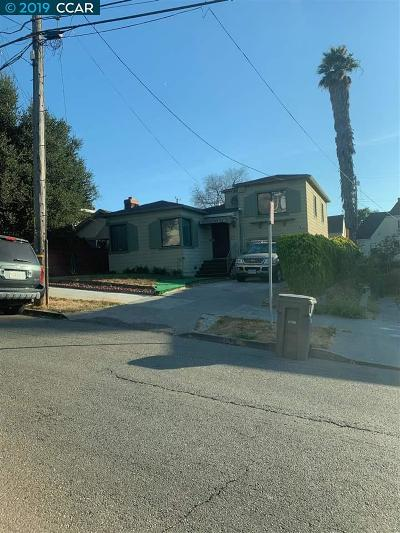 Alameda County Single Family Home New: 4701 Fleming Ave.
