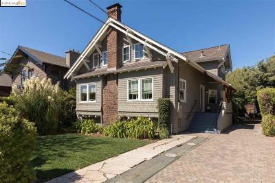 Berkeley Single Family Home New: 2723 Webster St