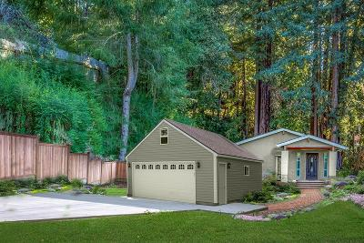 Los Gatos Single Family Home For Sale: 16308 Redwood Lodge Road