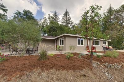 Los Gatos Single Family Home Pending Show For Backups: 25495 Firhaven Lane
