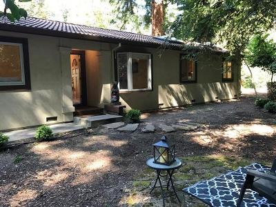 Los Gatos Single Family Home For Sale: 17959 Mountain Charlie Road