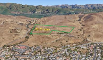 Milpitas Residential Lots & Land For Sale: Land Only, Uridias Ranch Road