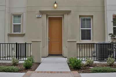 Milpitas Condo/Townhouse For Sale: 628 Barcelona Loop