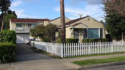 Mountain View Single Family Home For Sale: 1681 Latham Street