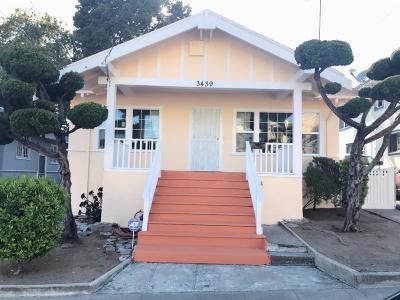 Oakland Single Family Home For Sale: 3439 Rhoda Avenue