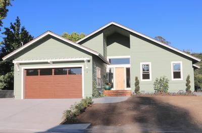 Santa Cruz Single Family Home For Sale: 1302 Orchard Drive